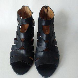 Nine West Raesa Gladiator Heeled Open-Toe Shoes 7